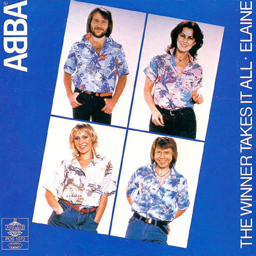 ABBA - The Winner Takes It All - Example of counterpoint or secondary melodies