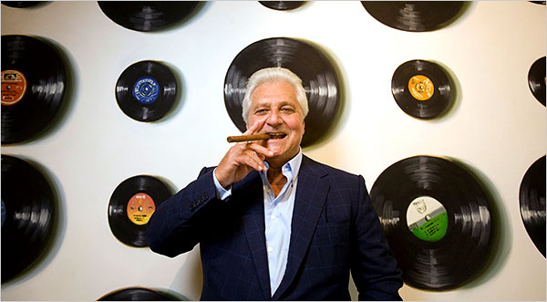 Marty Bandier, Chief Executive of the music publishing giant, Sony/ATV