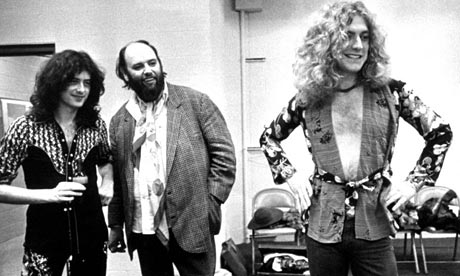 Peter Grant - Legendary manager of Led Zeppelin